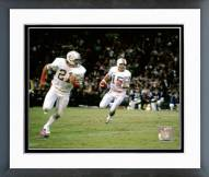 Miami Dolphins Earl Morrall 1972 Action Framed Photo