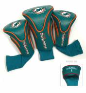 Miami Dolphins Golf Headcovers - 3 Pack