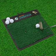 Miami Dolphins Golf Hitting Mat