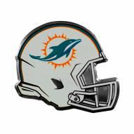 Miami Dolphins Helmet Car Emblem