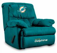 Miami Dolphins Home Team Recliner