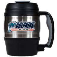 Miami Dolphins Jumbo 52 oz. Travel Mug