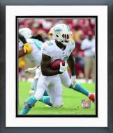 Miami Dolphins Lamar Miller 2015 Action Framed Photo
