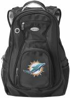 Miami Dolphins Laptop Travel Backpack