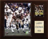 """Miami Dolphins Larry Csonka 12 x 15"""" Player Plaque"""