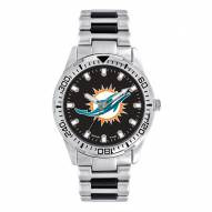 Miami Dolphins Men's Heavy Hitter Watch