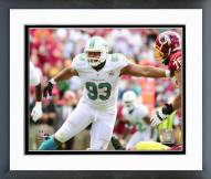 Miami Dolphins Ndamakong Suh 2015 Action Framed Photo