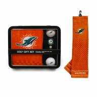 Miami Dolphins Golf Gift Set