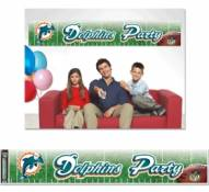 Miami Dolphins Party Banner
