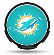 Miami Dolphins Light Up Power Decal
