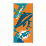 Miami Dolphins Puzzle Beach Towel
