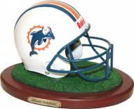 Miami Dolphins Replica Football Helmet Figurine