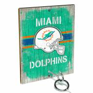 Miami Dolphins Ring Toss Game