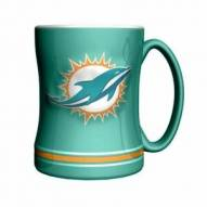 Miami Dolphins Sculpted Relief Coffee Mug