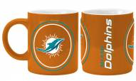 Miami Dolphins Sculpted Warm Up Coffee Mug