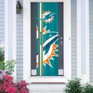 Miami Dolphins Door Banner