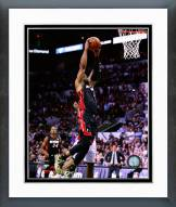 Miami Heat Dwyane Wade 2014 NBA Finals Action Framed Photo