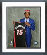 Miami Heat Justise Winslow 2015 NBA Draft Framed Photo