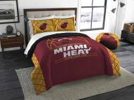 Miami Heat Reverse Slam Full/Queen Comforter Set
