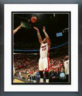 Miami Heat Udonis Haslem 2015-16 Action Framed Photo