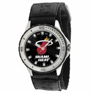 Miami Heat Veteran Velcro Mens Watch