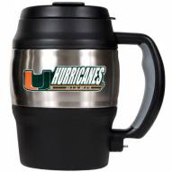 Miami Hurricanes 20 Oz. Mini Travel Jug