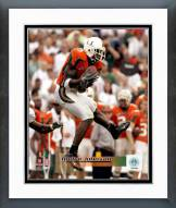 Miami Hurricanes Andre Johnson Action Framed Photo