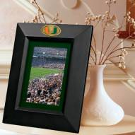 Miami Hurricanes Black Picture Frame