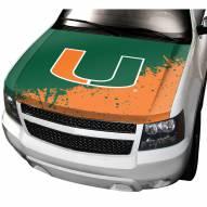 Miami Hurricanes Car Hood Cover