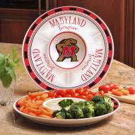 Miami Hurricanes Ceramic Chip and Dip Serving Dish