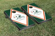 Miami Hurricanes Diamond Cornhole Game Set