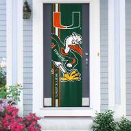 Miami Hurricanes Door Banner
