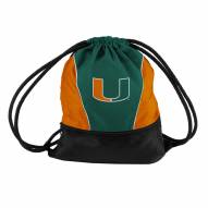 Miami Hurricanes Drawstring Bag