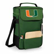 Miami Hurricanes Duet Insulated Wine Bag