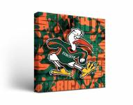 Miami Hurricanes Fight Song Canvas Wall Art