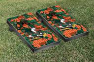 Miami Hurricanes Fight Song Cornhole Game Set