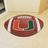 Miami Hurricanes Football Floor Mat