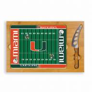 Miami Hurricanes Football Icon Cutting Board