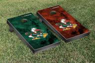 Miami Hurricanes Galaxy Cornhole Game Set