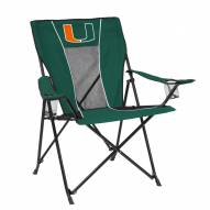 Miami Hurricanes Game Time Tailgate Chair