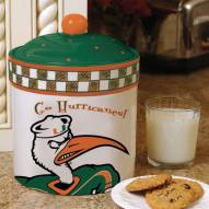 Miami Hurricanes Gameday Cookie Jar