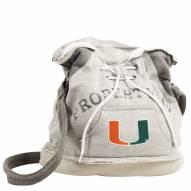 Miami Hurricanes Hoodie Duffle