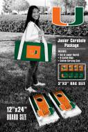 Miami Hurricanes Junior Cornhole Game Set