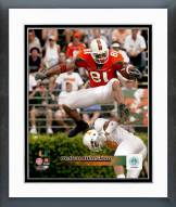 Miami Hurricanes Kellen Winslow Jr. Action Framed Photo
