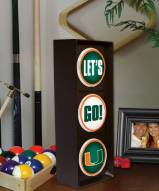 Miami Hurricanes Let's Go Light
