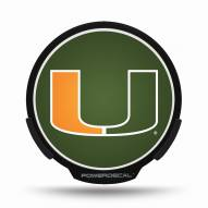 Miami Hurricanes Light Up Power Decal