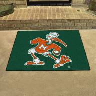 Miami Hurricanes Logo All-Star Mat