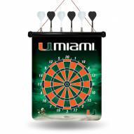 Miami Hurricanes Magnetic Dart Board