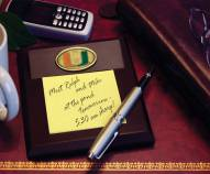 Miami Hurricanes Memo Pad Holder