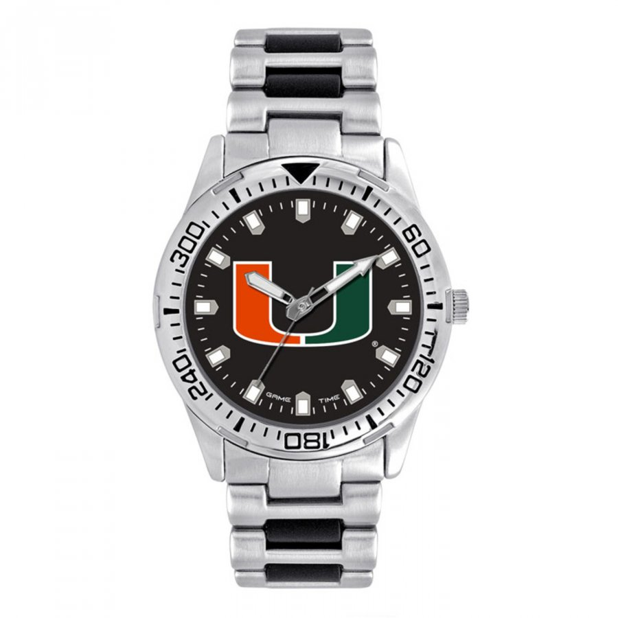 Miami Hurricanes Men's Heavy Hitter Watch